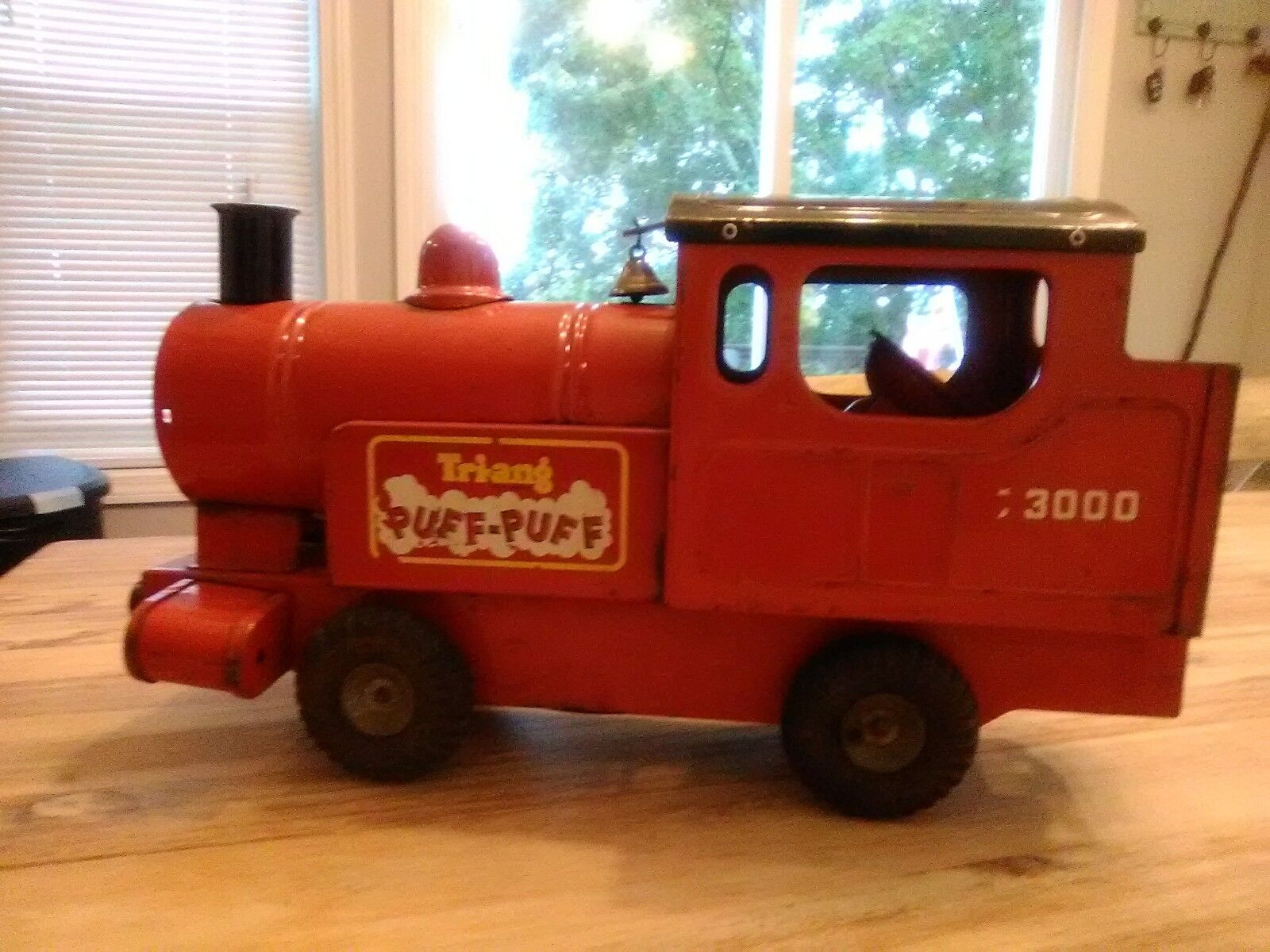 Vintage Tri-ang  Puff Puff Locomotive Train 1950's Made in England  livraison gratuite!