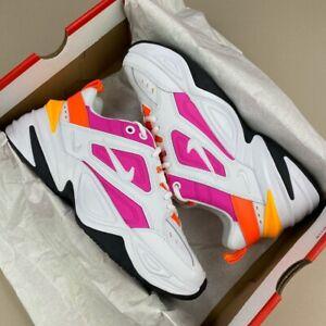 Nike Femme M2K TEKNO rose blanc orange Disponibles Tailles AO3108-104 Baskets