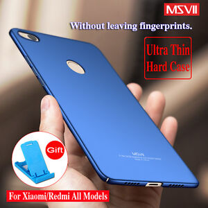 online store 6708d b1658 Détails : MSVII Case For Xiaomi Mi 5X Cases Redmi Note 4 Cover 4X 5A Cover  Y1 A1 Note 3 PC