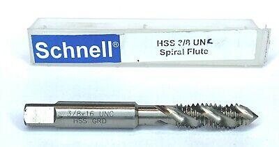 German Precision Schnell HSS BSW Hand//Machine Taps