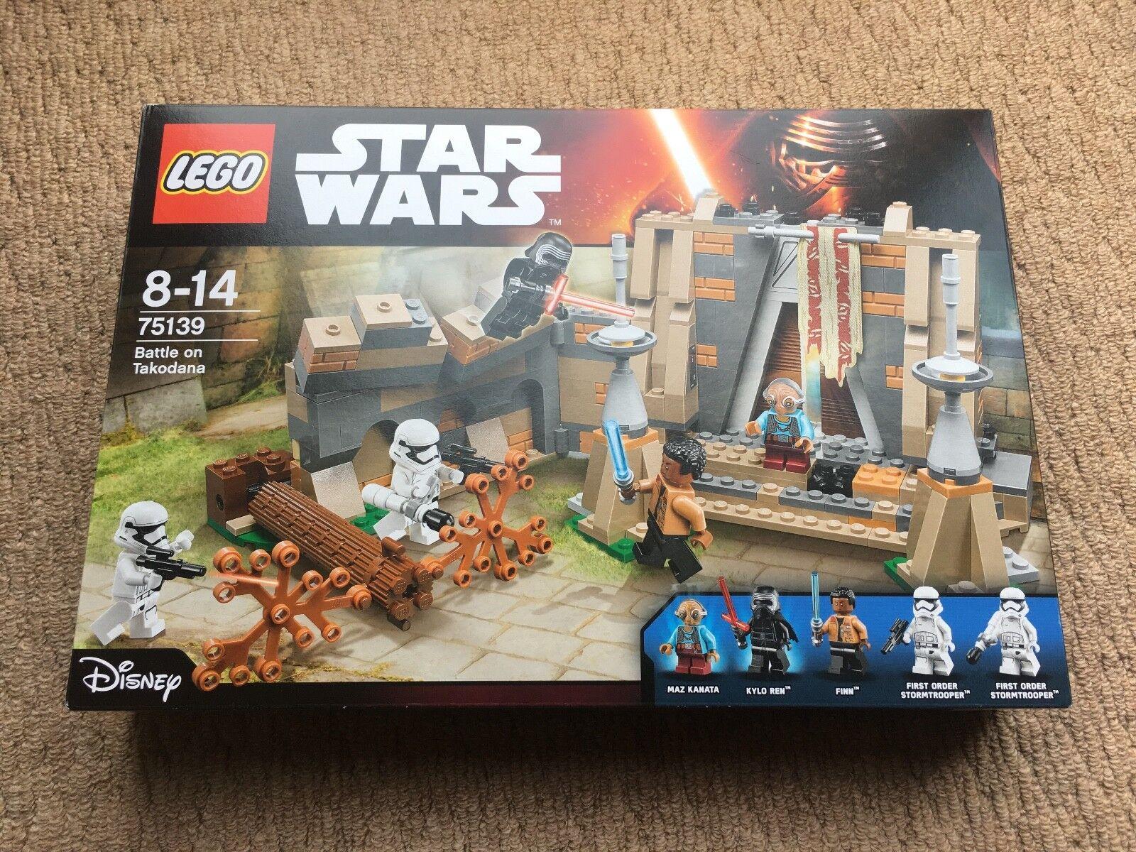 Lego Star Wars 75139 - Battle on Takodana - NEW - Retired - Boxed Sealed