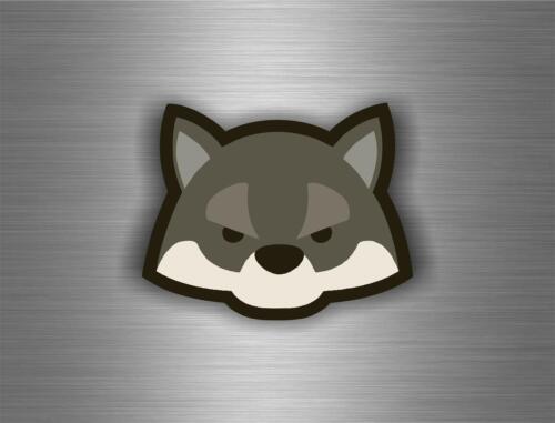 sticker car auto moto tuning decal jdm macbook room wal cartoon wolf