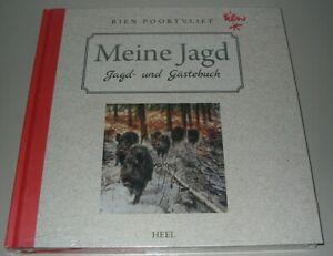 Rien-Poortvliet-Meine-Jagd-Jagd-und-Gaestebuch-Heel-Buch-Neu