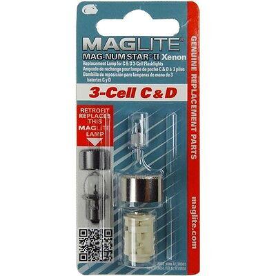 Maglite LMXA301 Replacment De Rechange Xenon White Star AMPOULE 3 CELL C et D Torches