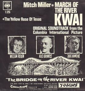 MITCH-MILLER-March-Of-The-River-Kwai-1963-OST-VINYL-SINGLE-7-034-HOLLAND