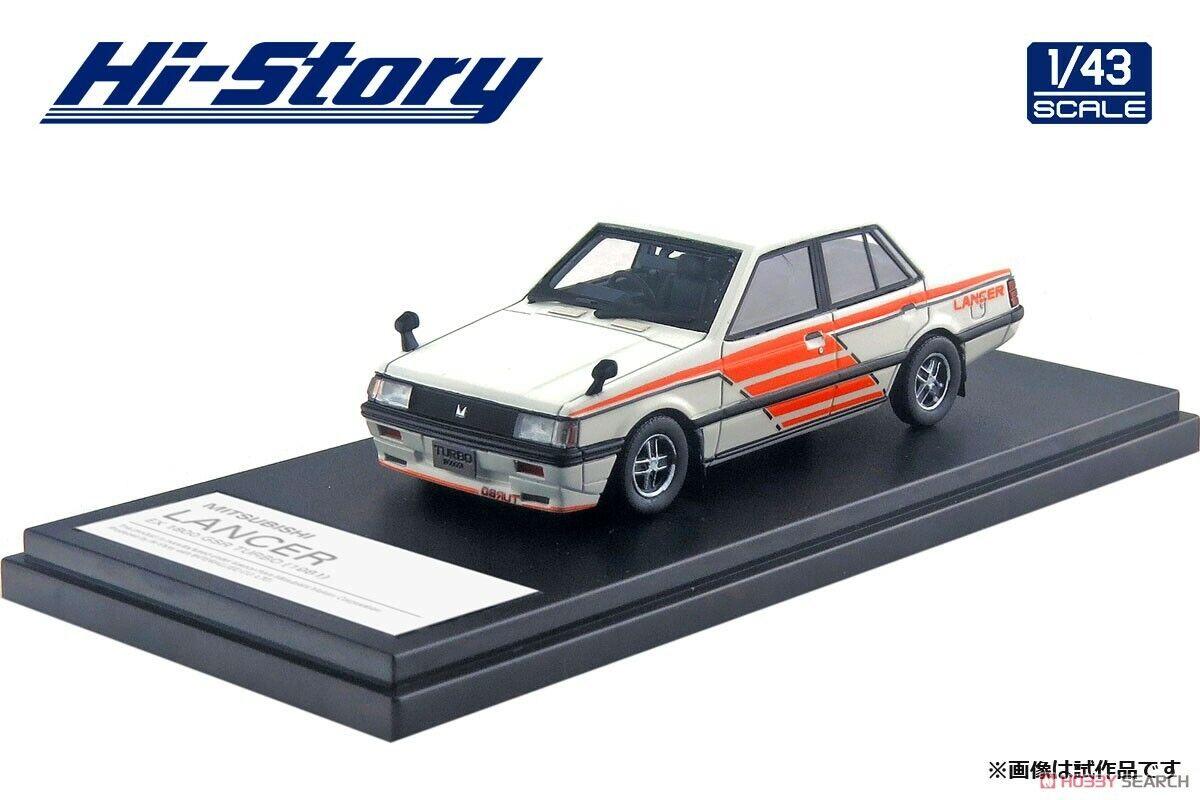 1 43 Hi-Story Mitsubishi Lancer EX 1800 Gsr Turbo (1981)  travail scalaire HS234SP  présentant toutes les dernières mode de la rue haute