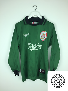new product bc175 4f10f Details about LIVERPOOL 96/98 GK Football Shirt (S) Soccer Jersey Reebok