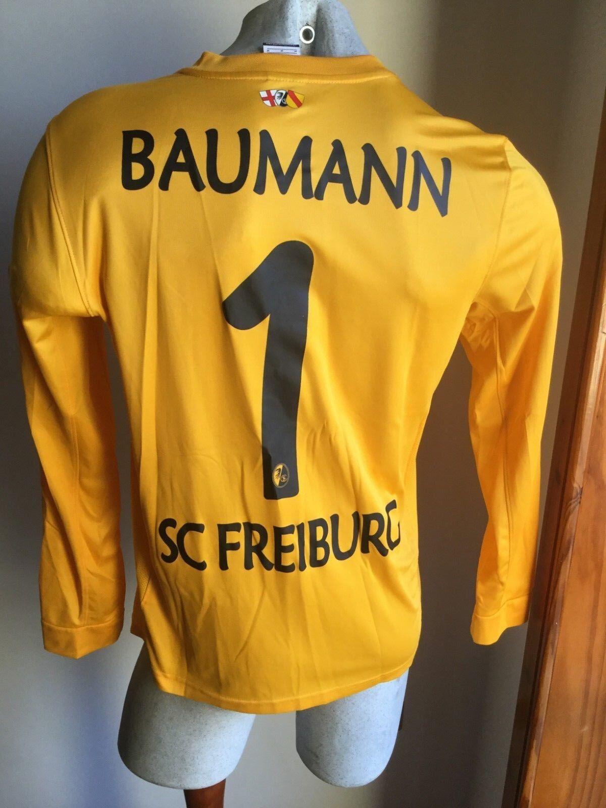 Maglia calcio nike freiburg goalkeeper baumann trikot football shirt Talla M