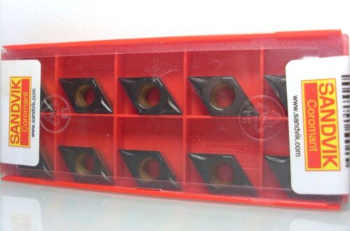 10 x Sandvik Dcmt 11T304-PF 4315 Indexable Inserts