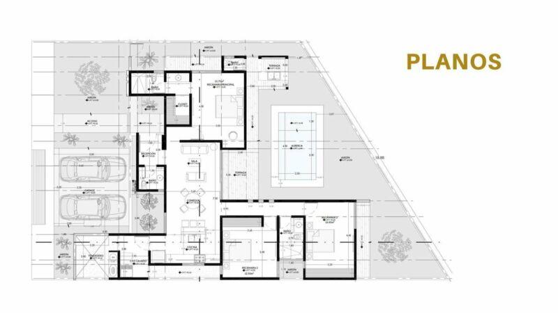 Casa de 1 Planta con 3 Habitaciones y Alberca en Privada Kanan a 15 min de Altabrisa,Mérida.