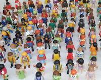 PLAYMOBIL 50 Figuren + Tier + Zubehör Ritter City Indianer Abenteuer alle Themen