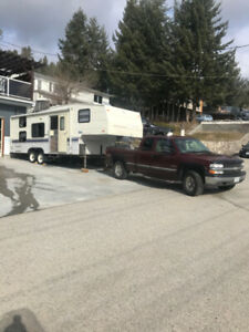 Truck and Trailer Combo $11000