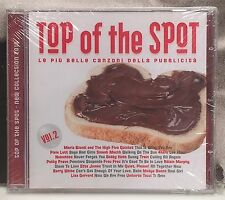 TOP OF THE SPOT 2010 VOL. 2 CD NUOVO SIGILLATO NEW