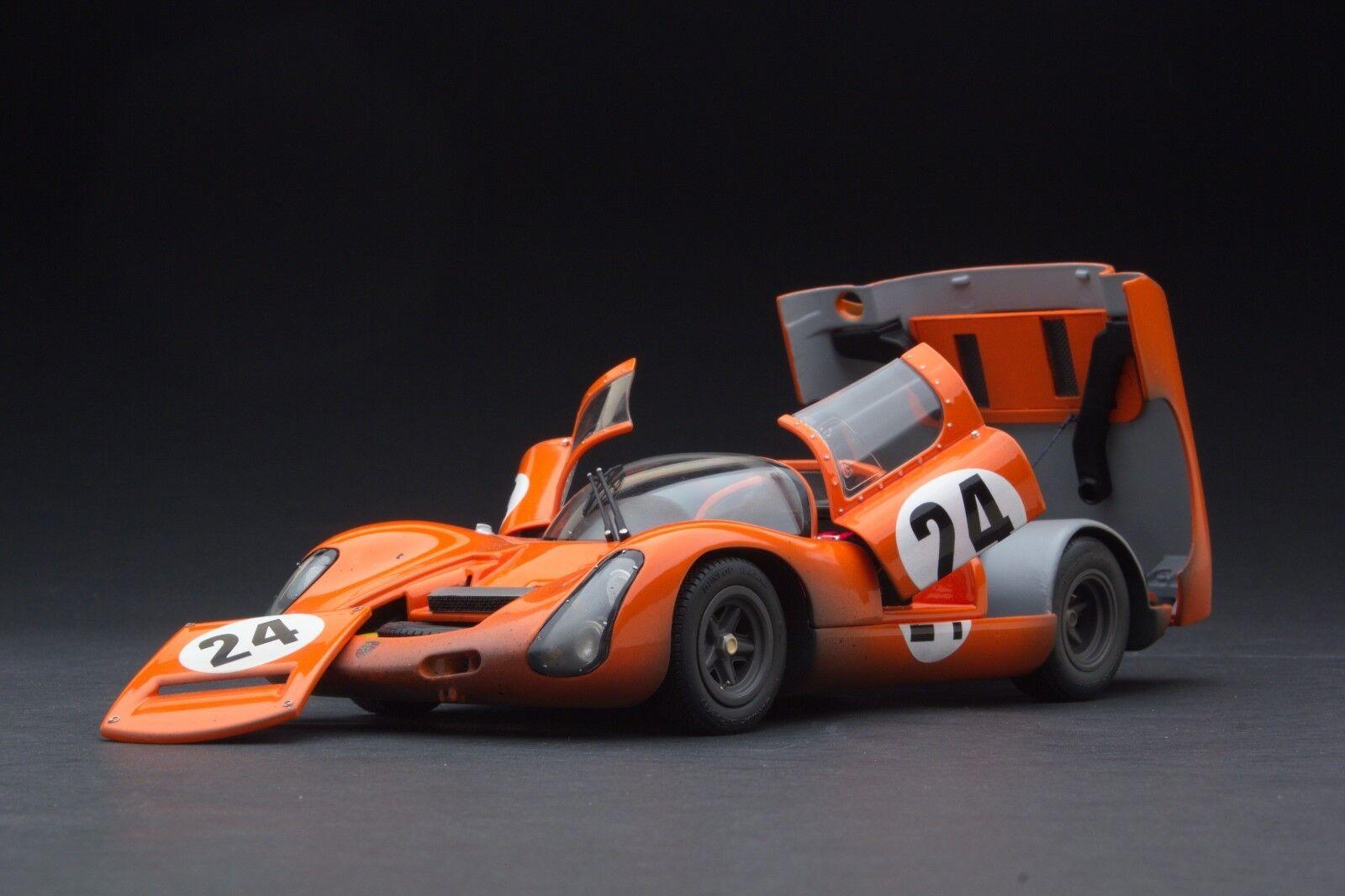 RACE WEATHERED Exoto 1966 Porsche 910 Hill Climb 1 18 MTB00063CFLP