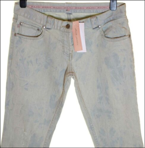 BNWT WOMEN/'S FCUK FRENCH CONNECTION 3//4 CAPRI STRETCH JEANS UK12 NEW RRP£65