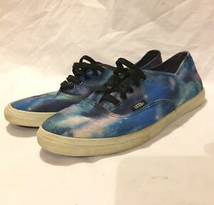 0ee6f78bd8 Vans Galaxy Night Sky Canvas Shoes TB4R Men s Size 6.5 Women s 8