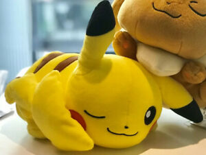 Brand-New-Lying-Laying-Down-Pikachu-Pokemon-Japan-Authentic-Winking