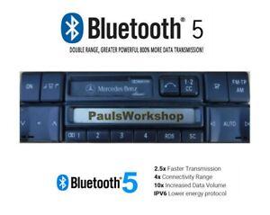 Nachruestung-Modernisierung-Mercedes-Benz-Becker-BE2010-Bluetooth-5-0-AUX-IN
