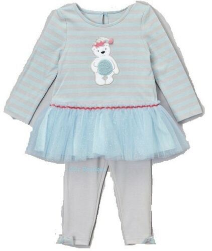 Girls MARMELLATA tutu dress outfit 4 5 6 7 8 10 NWT long sleeve leggings bear