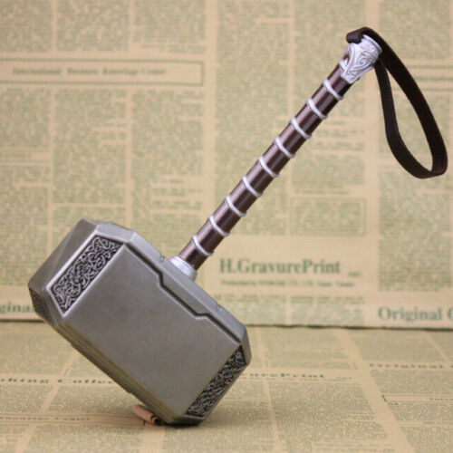Hot 20cm Marvel Hero Alloy The Avengers THOR HAMMER COSTUME COSPLAY Mjolnir Gift