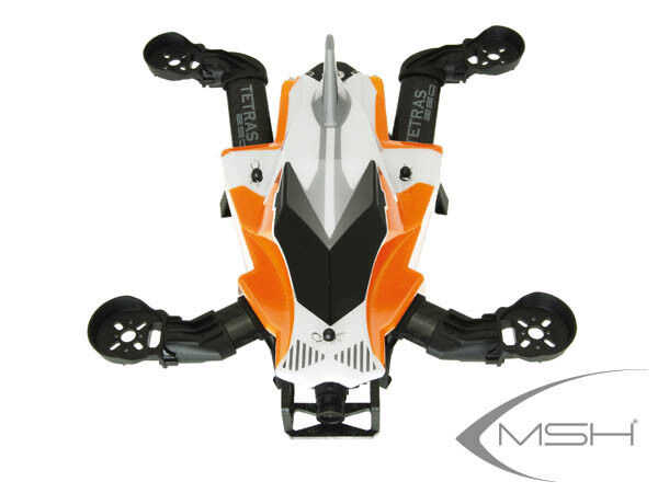 MSH Tetras Quadcopter FPV 280 with PCB - orange