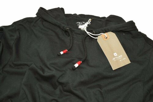 "T-Shirt Hoodie by JETLAG /""SO16-66 black/"" T Shirt mit Kapuze *Jet Lag Hoody *NEU"