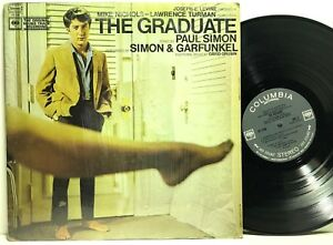 The-Graduate-Soundtrack-Simon-amp-Garfunkel-in-shrink-LP-Vinyl-Record-Album