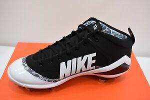 HonnêTe Nike Force Zoom Truite 4 Baseball Cale Sz 10 Neuf Apparence éLéGante