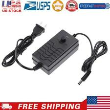 Ac To Dc Adapter 24 36v 2a Adjustable Power Supply Speed Controllerus