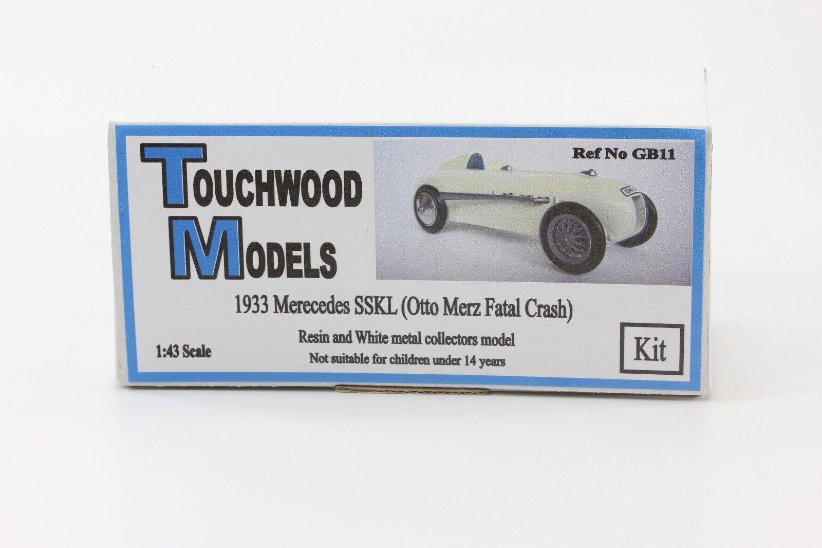 promocionales de incentivo Mercedes-Benz Mercedes-Benz Mercedes-Benz SSKL Avus 1933 Otto Merz kit de 1 43 Touchwood GB11  hasta un 60% de descuento