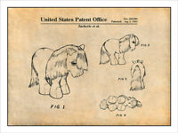 My Little Pony Toy Horse Patent Print Art Drawing Poster 18x24