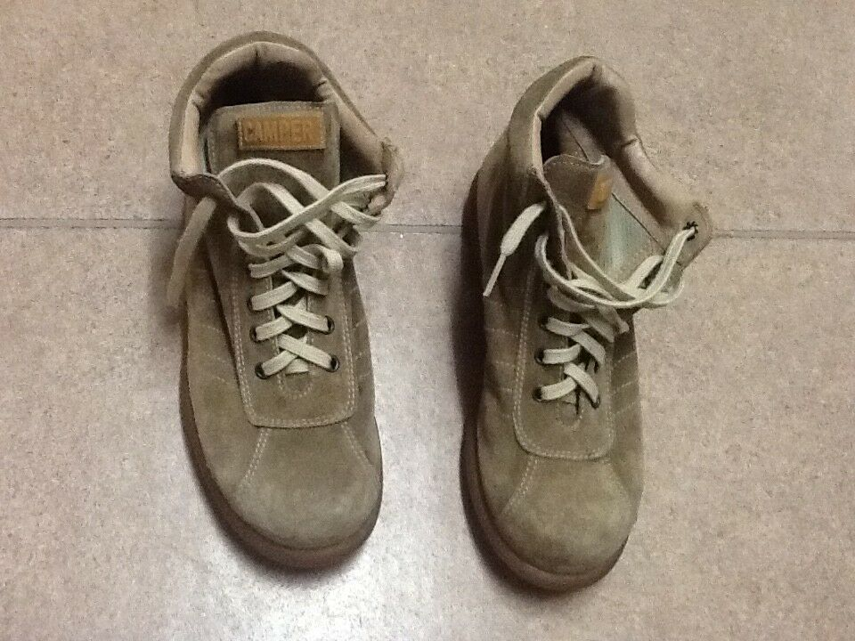 Campers vintage  tan boots ,size 37