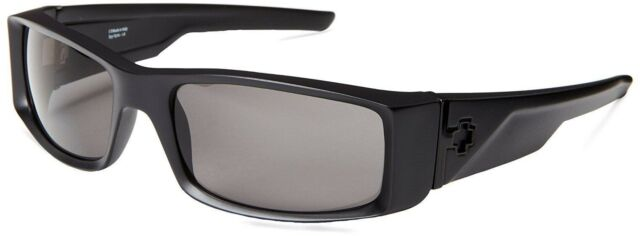 f6984238ba  670375374135  Spy Optic Hielo Wrap Sunglasses - Matte Black   Gray  Polarized