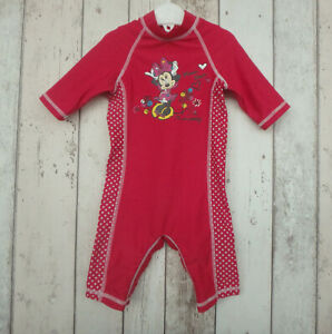 Pretty Baby Girl Minnie Mouse Swimsuit - Disney Baby (6 - 9 months)