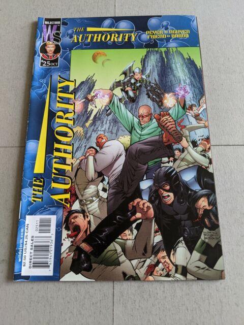 The Authority #25 October 2001 DC Wildstorm Comics