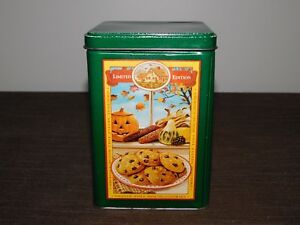 VINTAGE-6-1-4-034-HIGH-NESTLE-TOLL-HOUSE-COOKIES-amp-PARTY-MIX-TIN-BOX-EMPTY