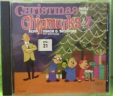 CD 'Christmas With The Chipmunks Vol 2' on EMI 1987 SEALED