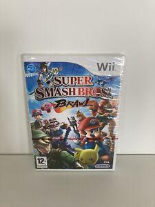 Nintendo Wii Super Smash Bros Brawl-Nuevo y Sellado