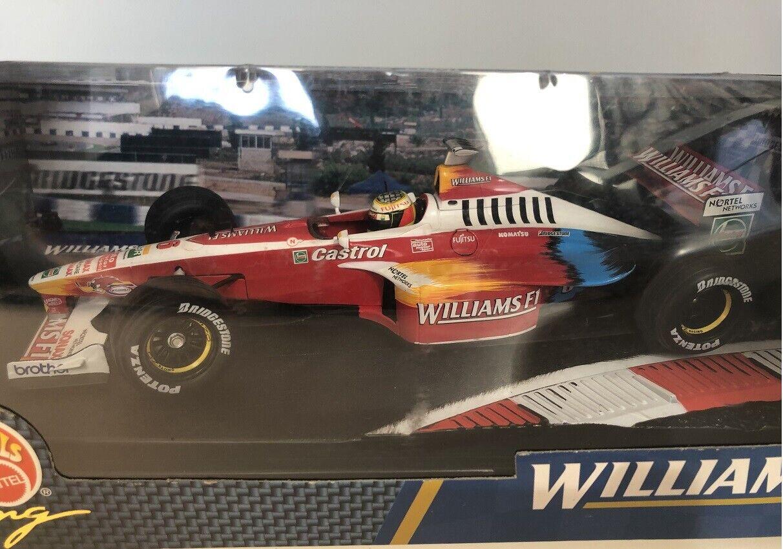 1 18 Hot Wheels WILLIAMS FW21 1999 RALF SCHUMACHER