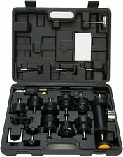 18pcs Radiator Pump Pressure Tester Amp Cooling Leak Test Checker Kit Vacuum Pump