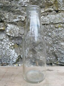 Collectable-Vintage-Pint-Glass-Milk-Bottle