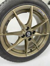 Winter Tyres Smart 453 Alloy Wheels Sparco Trofeo Bronze Gold Hankook