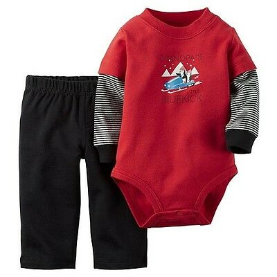 SIZE: 0-3M 24M *NWT- CARTER/'S BABY BOY/'S 2-PC OUTFIT SET