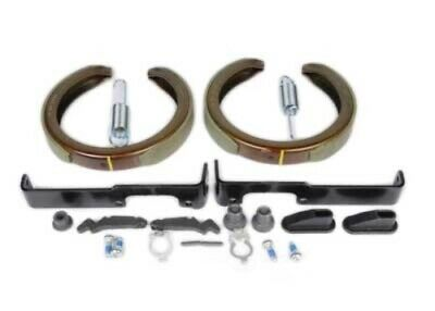 ACDelco 179-2049 GM Original Equipment Rear Parking Brake Hold Down Spring with Bolts