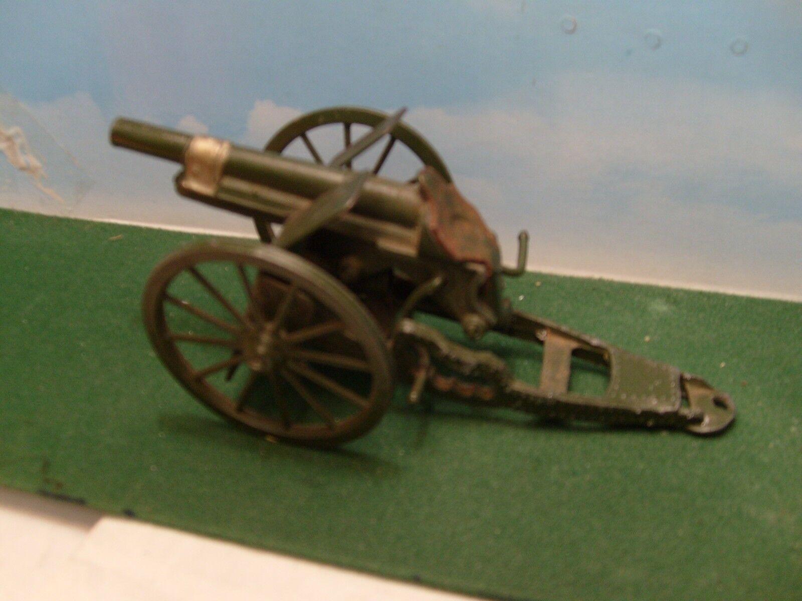 BRITAINS CRESCENT ROYAL ARTILLERY 4,5 GUN WWI. WWI. WWI. DIECAST 1 32 SCALE. VGC 0e6861