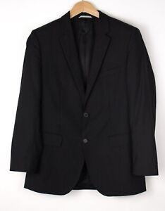 HUGO BOSS Hommes The James4/Sharp6 Laine Veste Blazer Taille Ue / UK:50 US:40