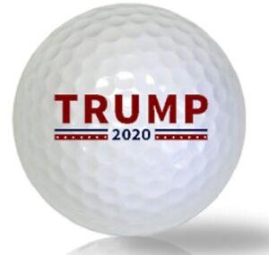New Golf Equipment 2020 1 Dozen Titleist Pro V1 (Donald Trump 2020 Logo) New Golf Balls in