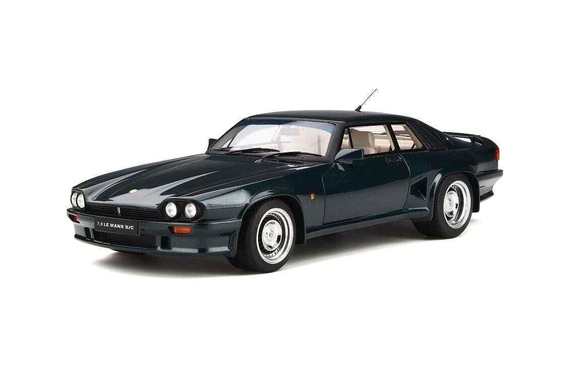 GT Spirit Lister Jaguar XJS 7.0 Le Mans Coupé 1 18 British Racing verde