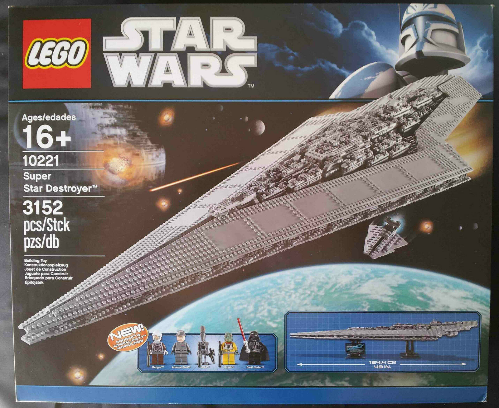 LEGO STAR WARS 10221 - SUPER STAR DESTROYER (UCS)  NUEVO SELLADO   NEW SEALED
