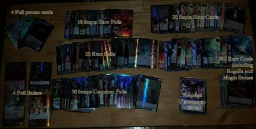 SR J//R FoW Force of Will bundle lot promos foils 250+ different ONLY rares